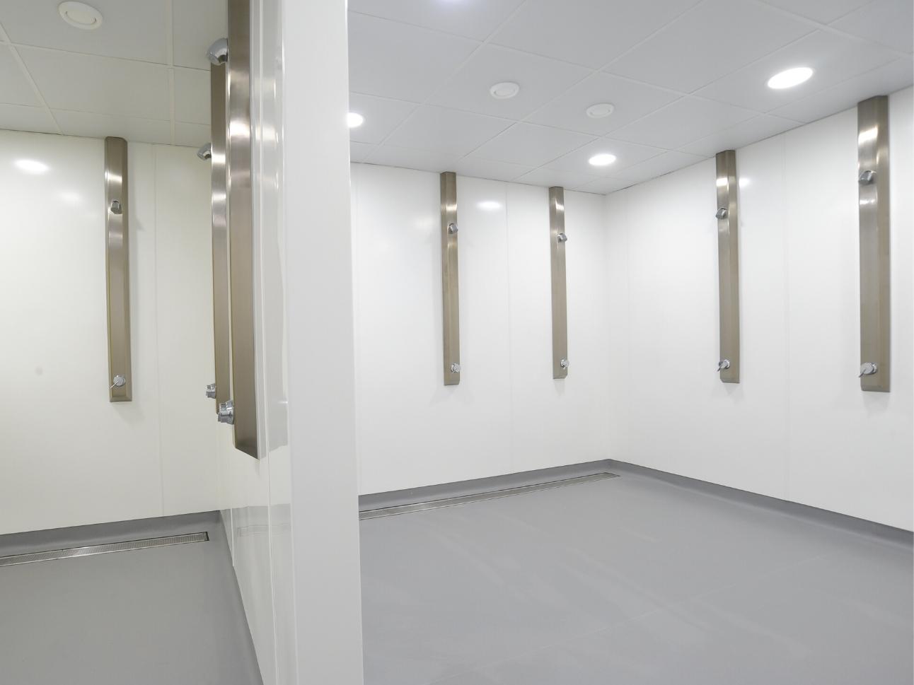 Hampton School Shower Room Refubishment | Case Study | Commercial Washrooms
