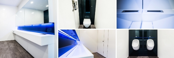 Executive Washroom Refurbishment London | Commercial Washrooms