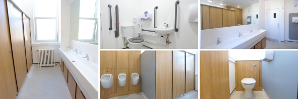 Global Charity's London HQ Renovation | Commercial Washrooms
