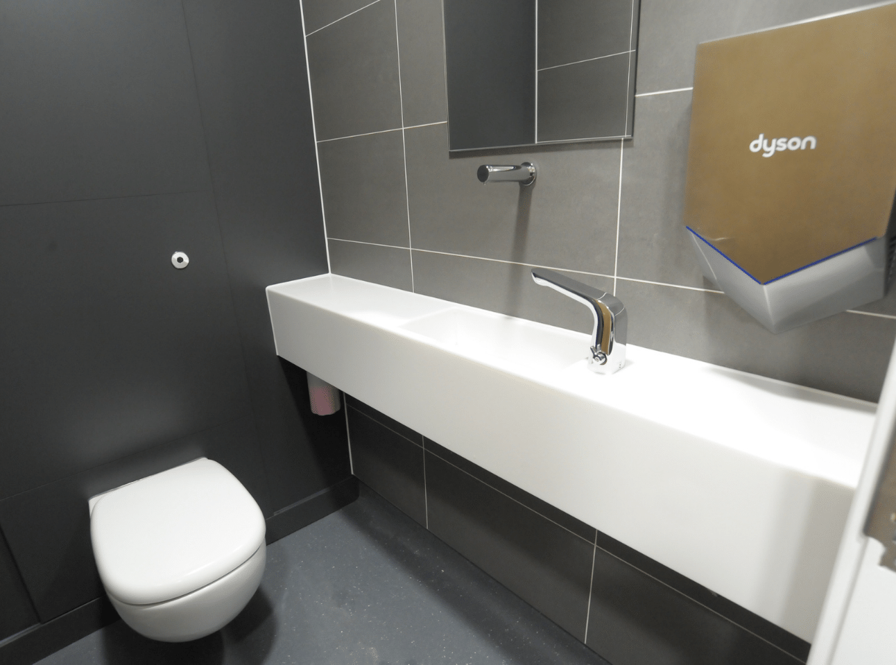 Super-loo | National Physics Laboratory Case Study | Commercial Washrooms