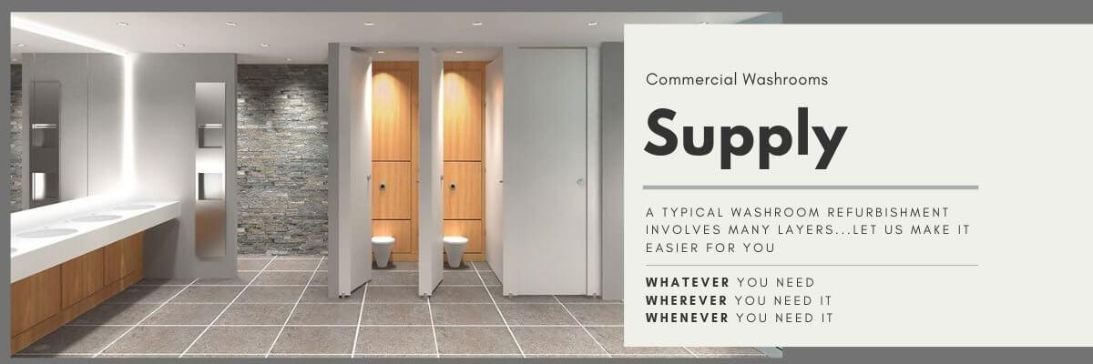 Washroom Refurbishment | Supply Only | Commercial Washrooms