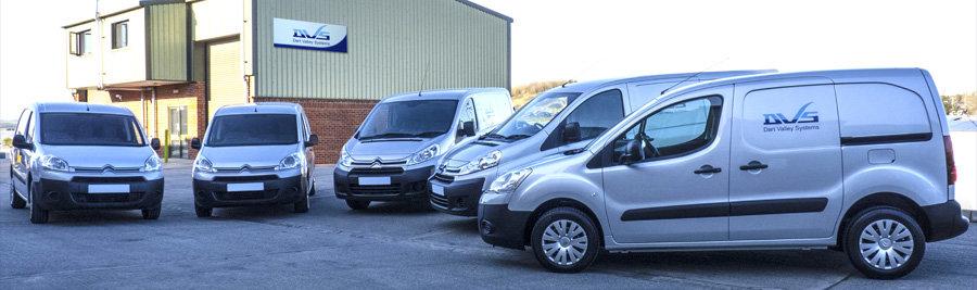 DVS Delivery Vans